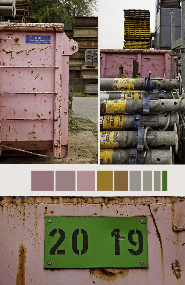 Baumaterial - Color Sampler